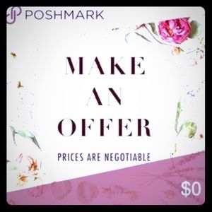 Make an offer you never know! 😊